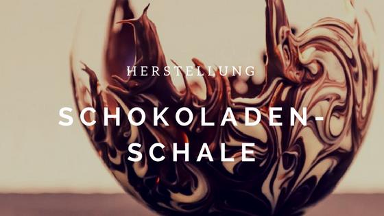 Schokoladenschale zweifarbig selbst herstellen