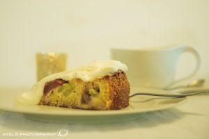 Rharbarberkuchen Stück