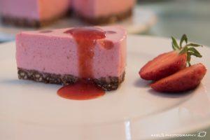 Erdbeer-Joghurt-Kuchen Stück