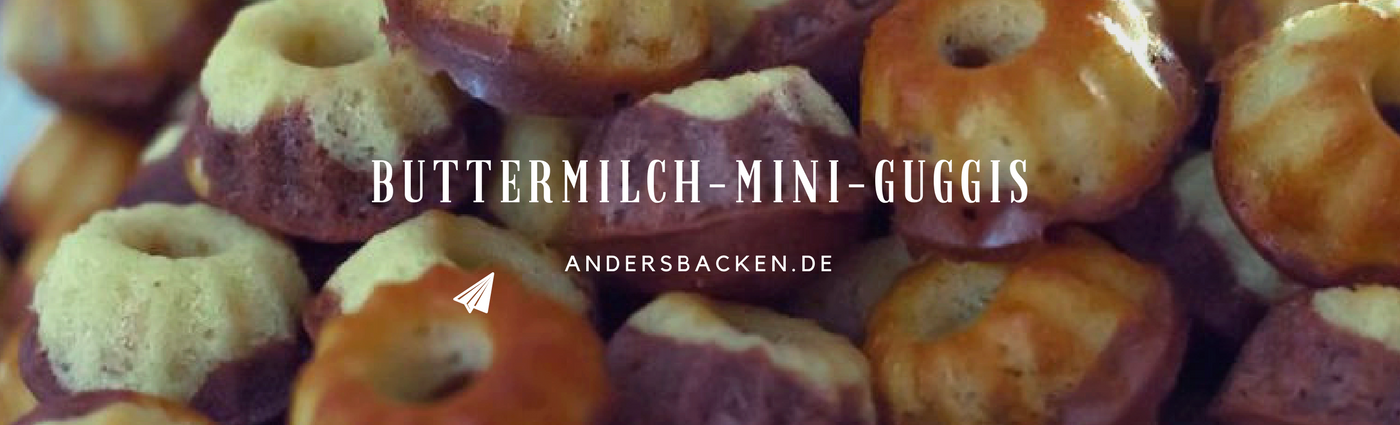 Mini Buttermilch Guggis