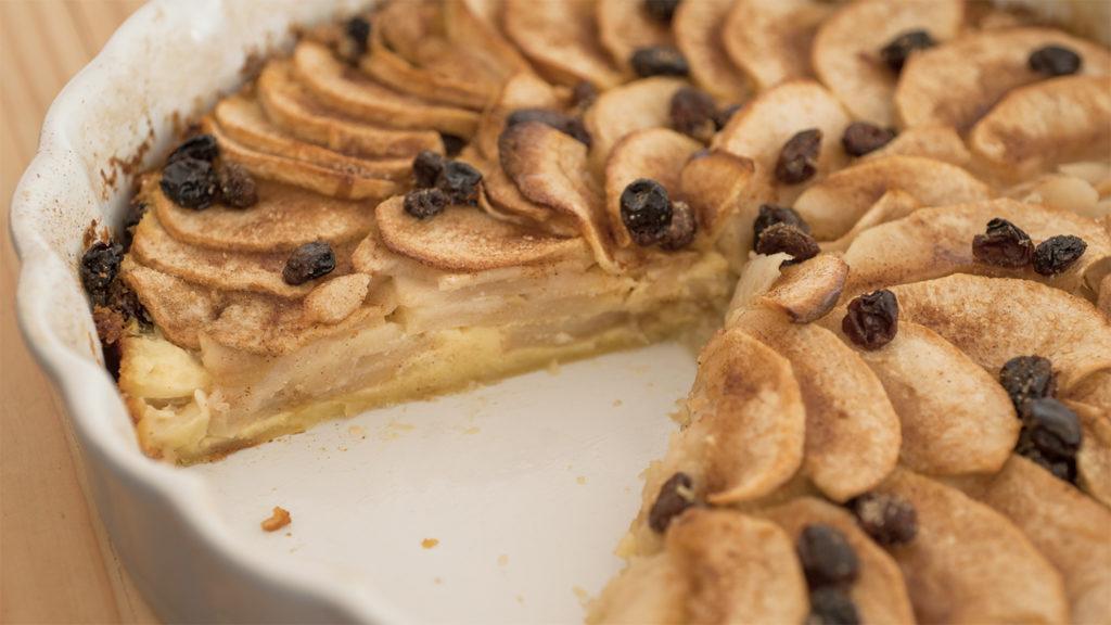 Apfel Pfannkuchen Tarte 1