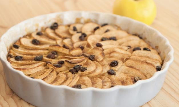 Apfel-Pfannkuchen-Tarte