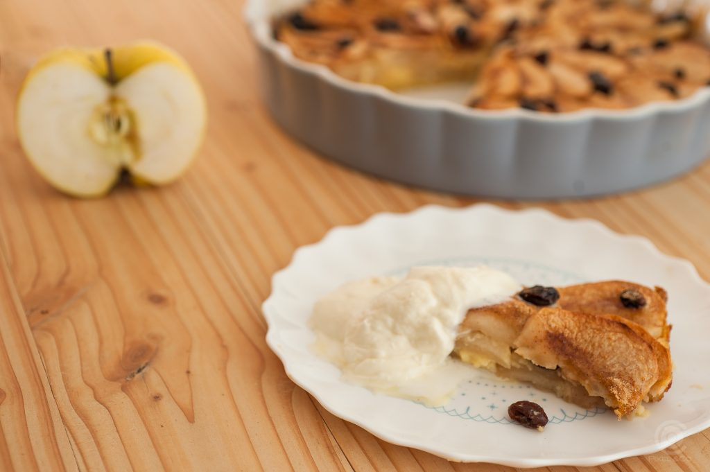 Apfel Pfannkuchen Tarte 2 von 3