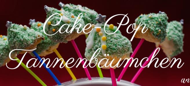 glutenfreie Cakepop Tannenbäumchen