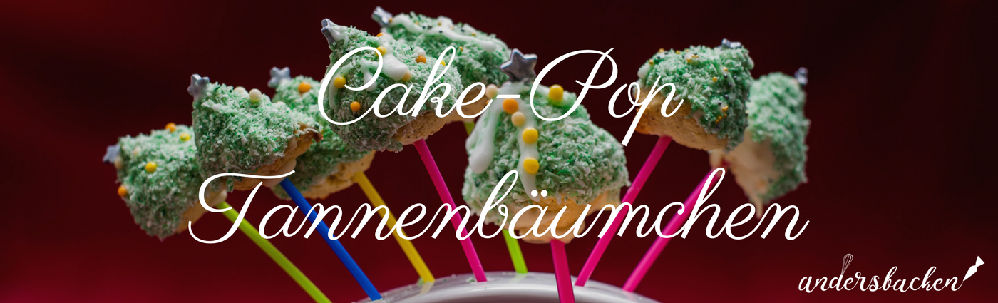 Cakepop Tannenbäumchen