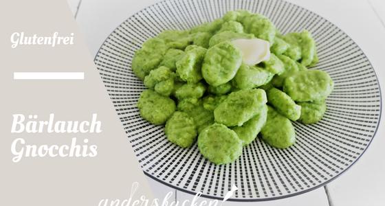 Glutenfreie Bärlauch Gnocchis