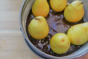 Birnenkuchen glutenfrei