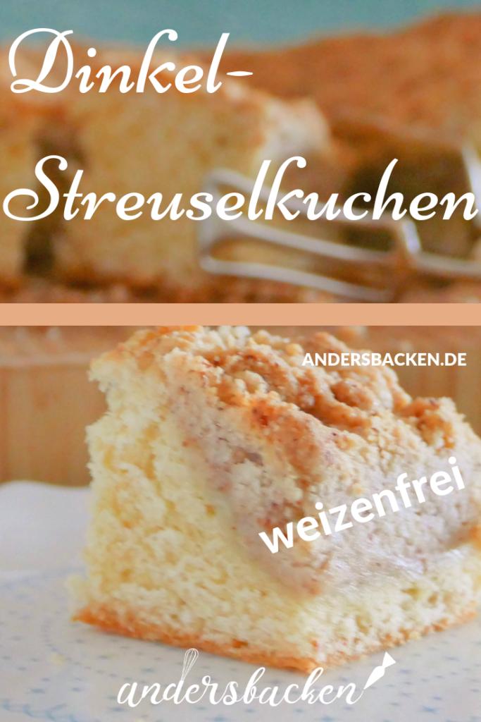 weizenfreier Streuselkuchen