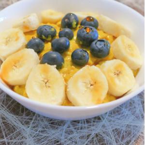 Frühstücksritual porridge