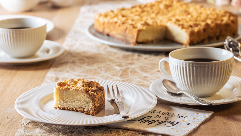 Streuselkuchen Rezept mit Dinkelmehl vegan
