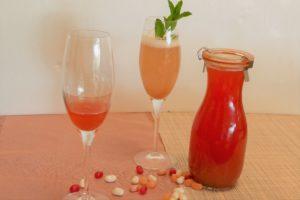 Rhabarber Rezept mit Sirup