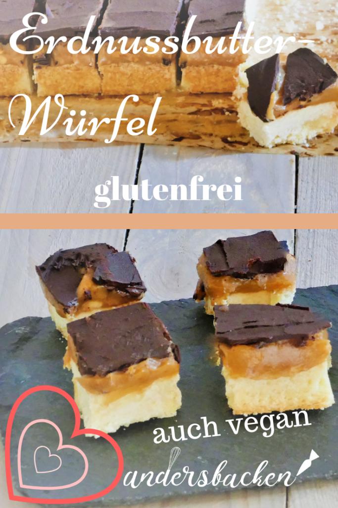 Rezept Erdnussbutter Würfel