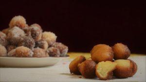 glutenfreie Quarkbällchen bakcken