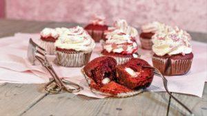 glutenfreie red-Velvet Cupcakes Rezept