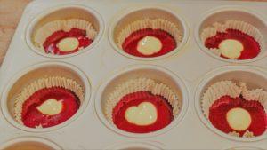 red-velvet Cupcakes glutenfrei