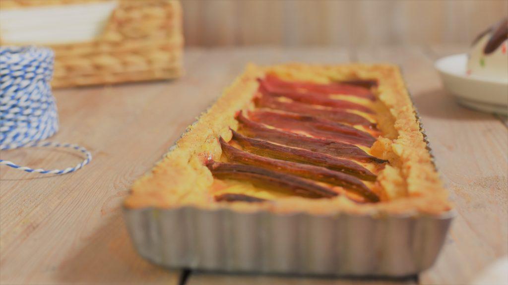 glutenfree Rhubarb cake