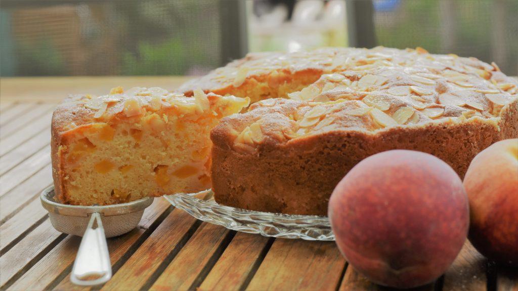 Pfirsich-Joghurtkuchen