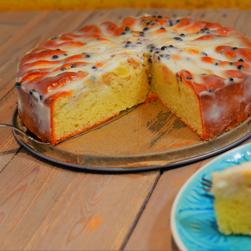 Apfel-Joghurt Kuchen