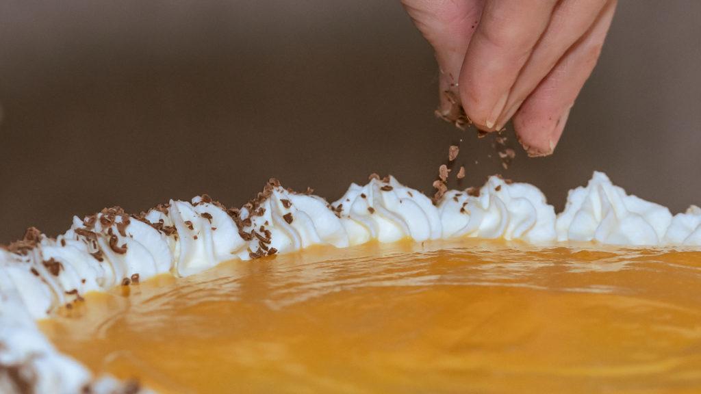 Eierlikörtorte ohne Mehl