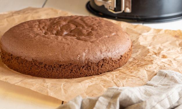 Schokoladen Biskuit