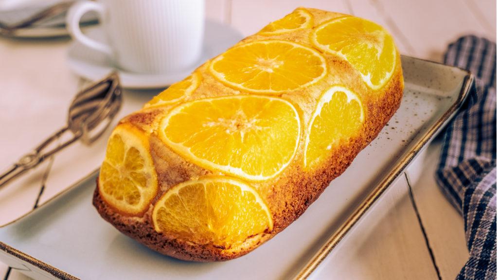 Rezept für glutenfreien Orangenkuchen