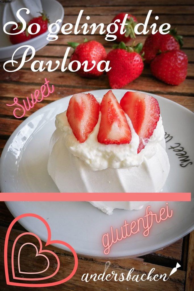 Rezept für Pavlova glutenfrei