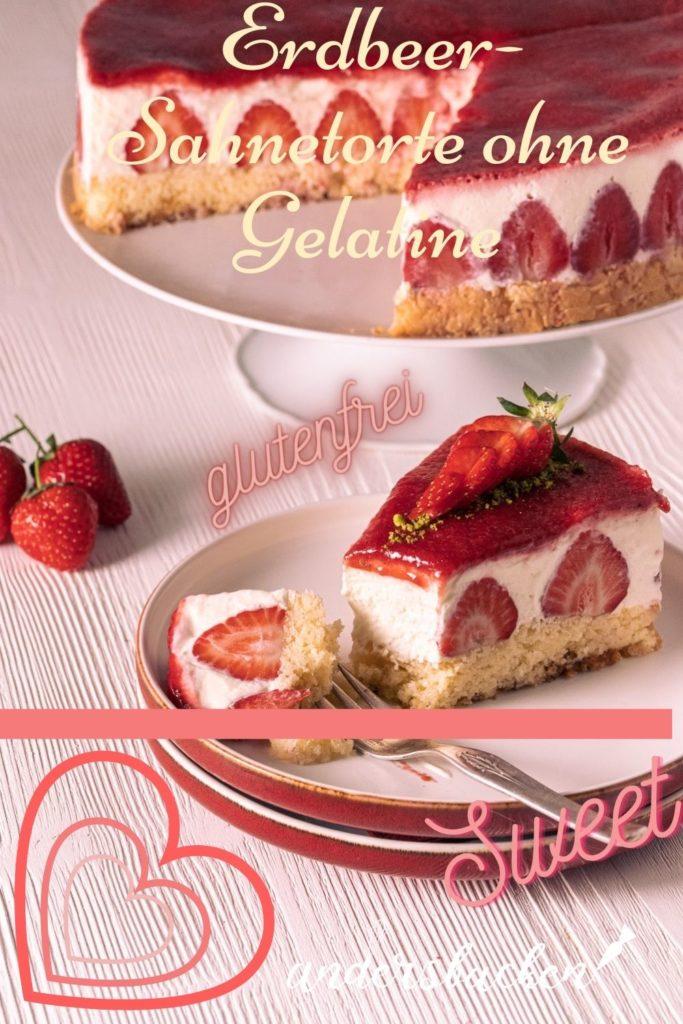 Torte ohne Gelatine glutenfrei